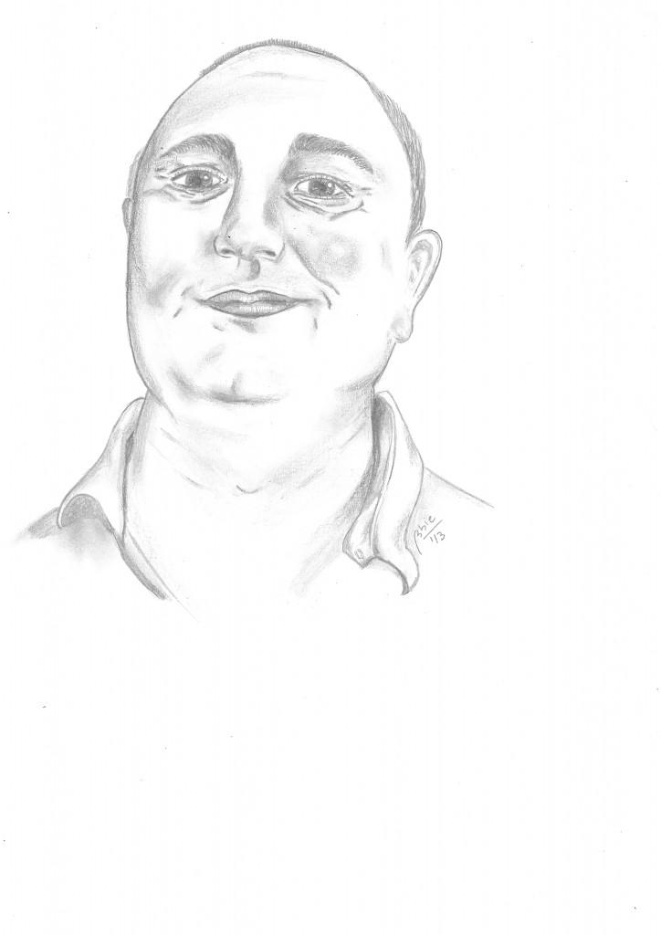 caricatura Douglas Arellanes