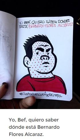 Fuente: http://ilustradoresconayotzinapa.tumblr.com/
