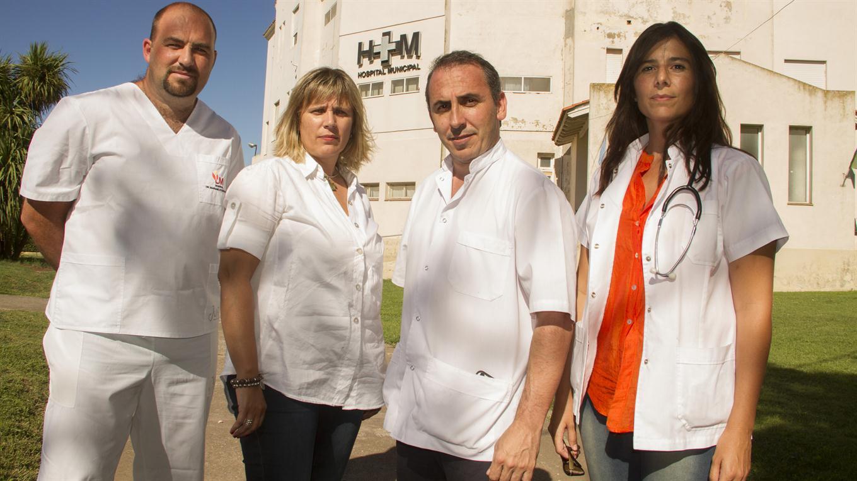 Marcelo Morante y equipo - gentileza Revista THC