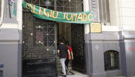 """""""ESTA TOMA ES EN DEFENSA DE LA EDUCACIÓN PÚBLICA"""""""