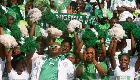 NIGERIA, CON SELLO ALEMÁN