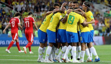 BRASIL AVANZA INVICTO