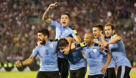 URUGUAY, CANDIDATO A GANAR EL MUNDIAL 2018