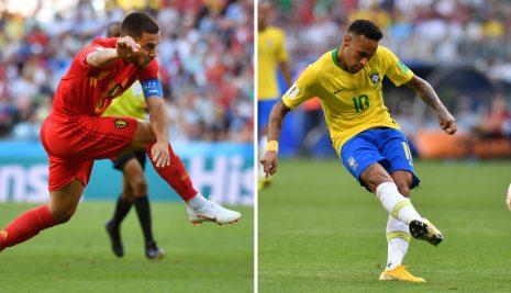 BRASIL VS BÉLGICA: DUELO DE CANDIDATOS