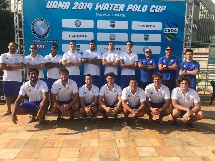 El seleccionado argentino de Waterpolo.