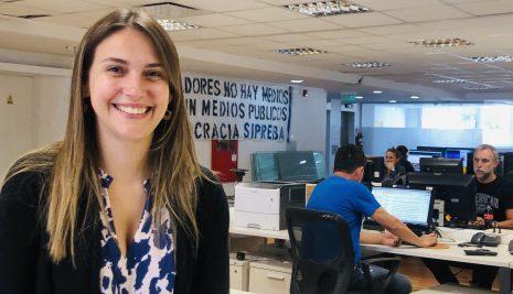 """CARLA GAUDENSI: """"LAS MUJERES SOMOS MENOS DEL 30% EN LAS REDACCIONES Y LAS MÁS PRECARIZADAS"""""""